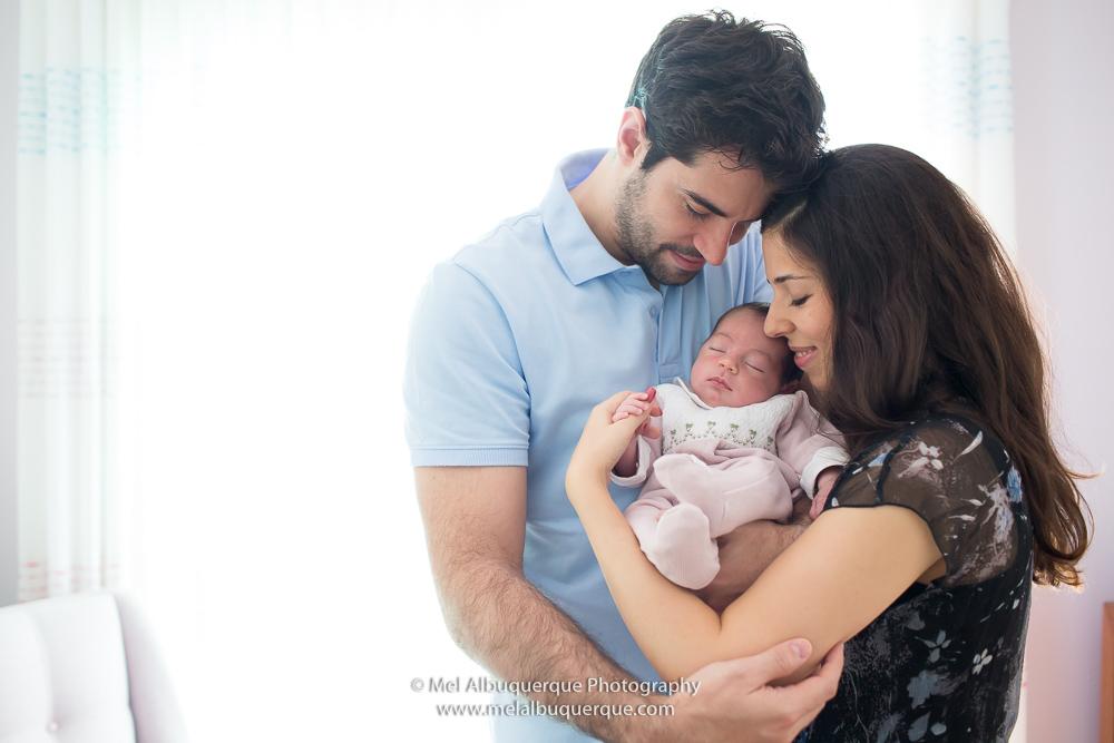 Ensaio Newborn Lifestyle | Gabrielle + Marcos + Manuela